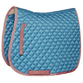 Derby House Pro Frenchie Saddlepads - Niagra Ash Rose