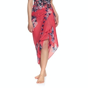 Joules Sirena Sárong - Red Floral