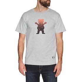 T-Shirt à Manche Courte Grizzly Og Bear Fadeaway - Grey Heather