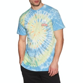 Rip N Dip Smokin Short Sleeve T-Shirt - Multi Tie Dye