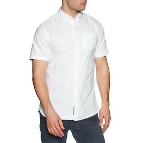 Superdry Classic University Oxford Short Sleeve Shirt - Optic