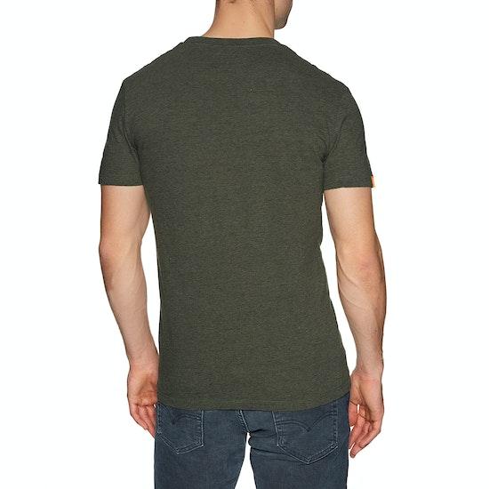 Superdry Orange Lable Vintage Embroidery Crew Short Sleeve T-Shirt