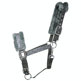 Hy Dazzle Head Collar - Gunmetal Grey