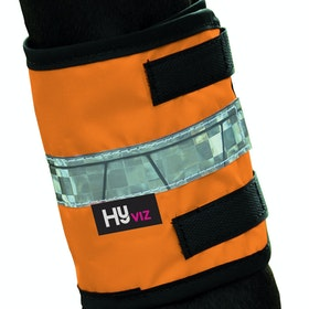 Hy Viz Leg Reflective Band - Orange Black