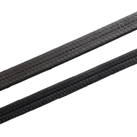 Hy Rubber Grip Reins - Black