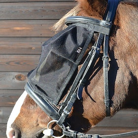 Hy Riding Fly Mask - Black