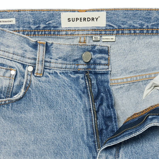 Superdry High Rise Straight Womens ジーンズ