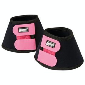 Roma Neoprene II Bell Over Reach Boots - Black Fuchsia