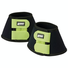 Roma Neoprene II Bell Over Reach Boots - Black Green