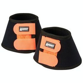 Roma Neoprene II Bell Over Reach Boots - Black Orange