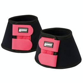 Roma Neoprene II Bell Over Reach Boots - Black Pink