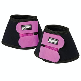 Roma Neoprene II Bell Over Reach Boots - Black Purple