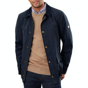Joules Arbury Field Coat Waterproof Jacket - Marine Navy