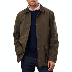 Joules Arbury Field Coat Waterproof Jacket - Green