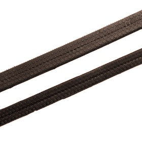 Hy Rubber Grip Reins - Brown