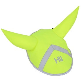 Hy Viz Reflective Bonnet Fly Veil - Yellow