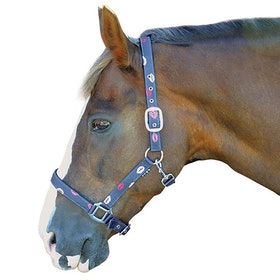 Hy Kiss Head Collar - Navy Kiss