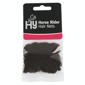 Hy Standard Weight Hairnet - Dark Brown