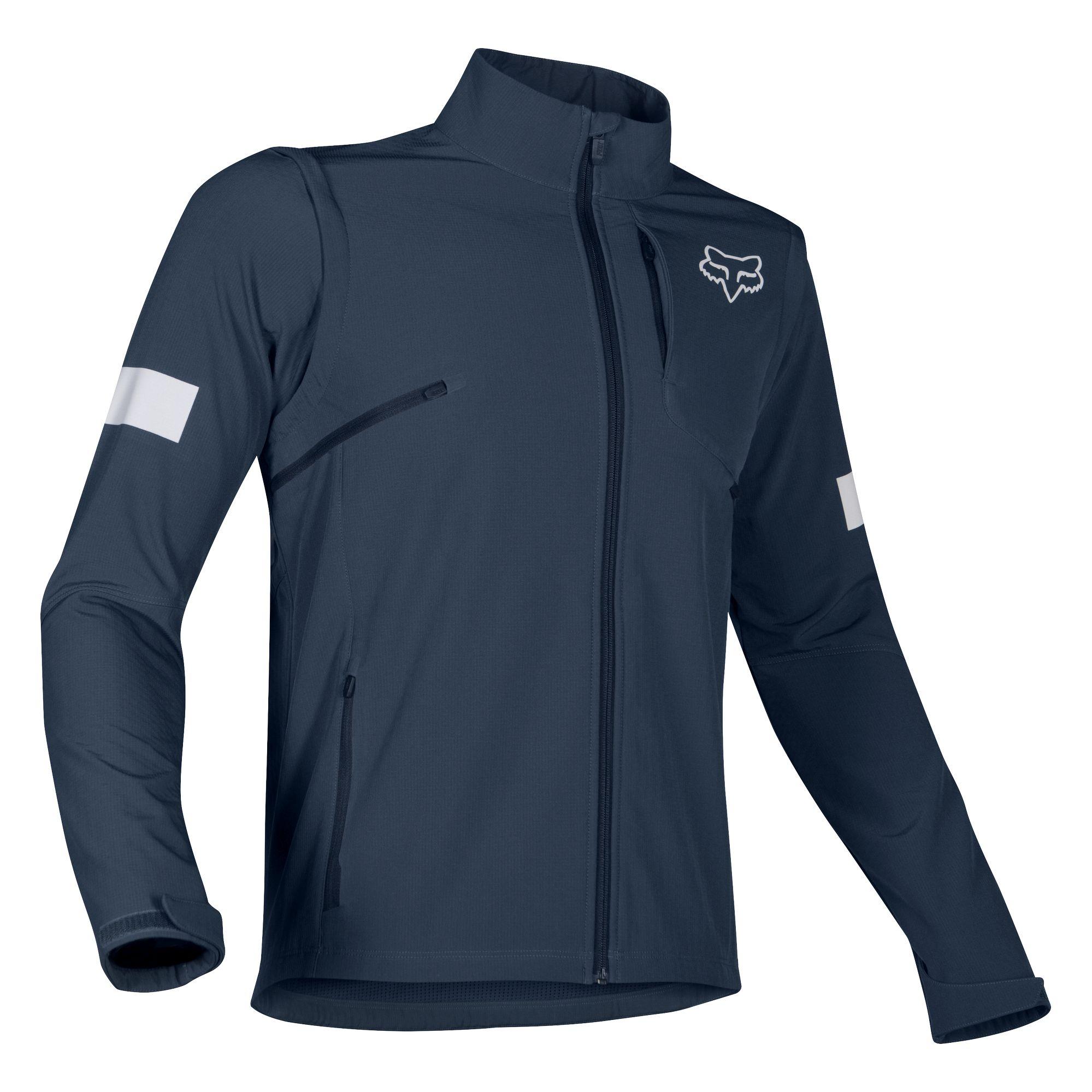 Moto X SS T-Shirt Fox Racing Blue Medium
