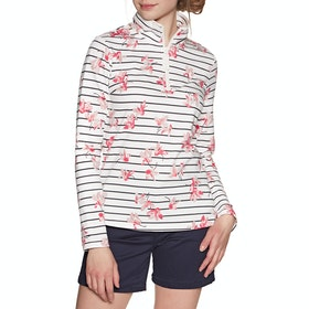 Joules Fairdale Print Women's Sweater - Grey Floral Stripe