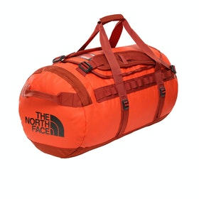 North Face Base Camp Medium Duffle Bag - Acrylic Orange Picante Red