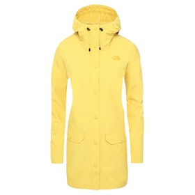 North Face Woodmont Dame Vandtætte Jakker - Bamboo Yellow