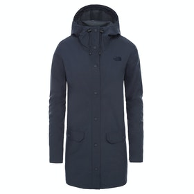 North Face Woodmont Dame Vandtætte Jakker - Urban Navy