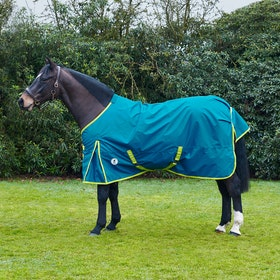Derby House Evolution PFC Free Lightweight Standard Turnout Rug - Tide Blue Sea Green
