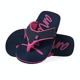Animal Swish Logo Sandals - Indigo Blue