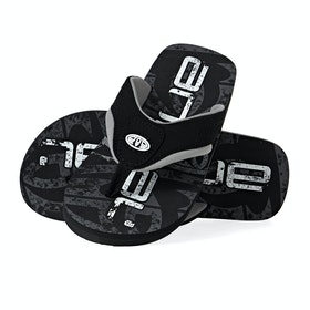 Sandales Animal Jekyl Logo - Black
