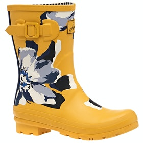 Botas de lluvia Mujer Joules Molly - Gold Floral