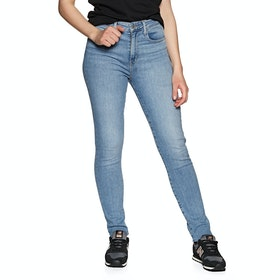 Levi's 721 High Rise Skinny Womens ジーンズ - Have A Nice Day