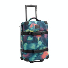 Burton Wheelie Flight Deck Luggage - Aura Dye Ballistic