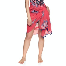 Joules Sirena Sarong - Red Floral