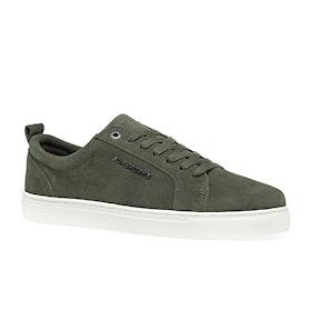 Superdry Truman Premium Lace Up Shoes - Khaki