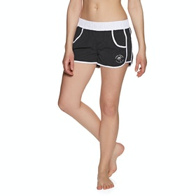 Boardshort Femme Animal Adelaide Dawn - Black