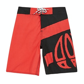 Boardshort Animal Layka - Watermelon Red