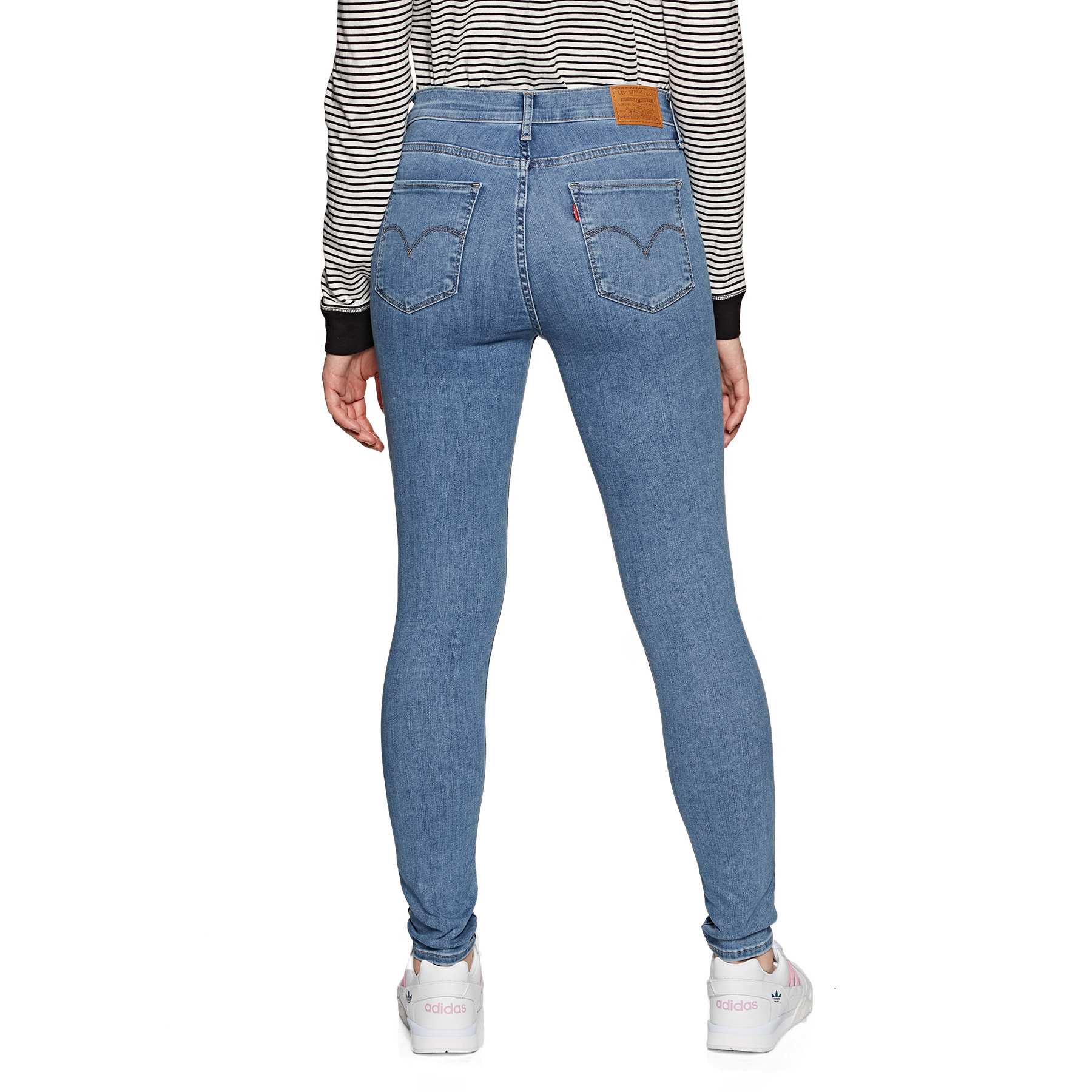 Vaqueros Mujer Levi's 720 High Rise Super Skinny Velocity