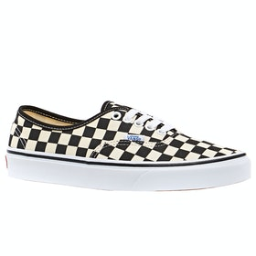 Vans Golden Coast Authentic Trainers - (Golden Coast) Black White Checker