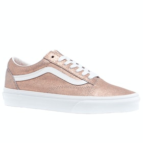Vans Old Skool Ladies Trainers - Rose Gold