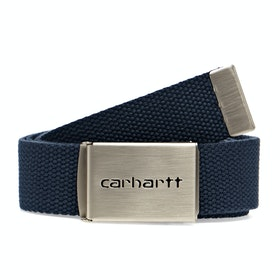 Carhartt Clip Chrome Web Belt - Blue