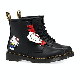 Dr Martens 1460 Hello Kitty Kid's Boots - Black Hydro