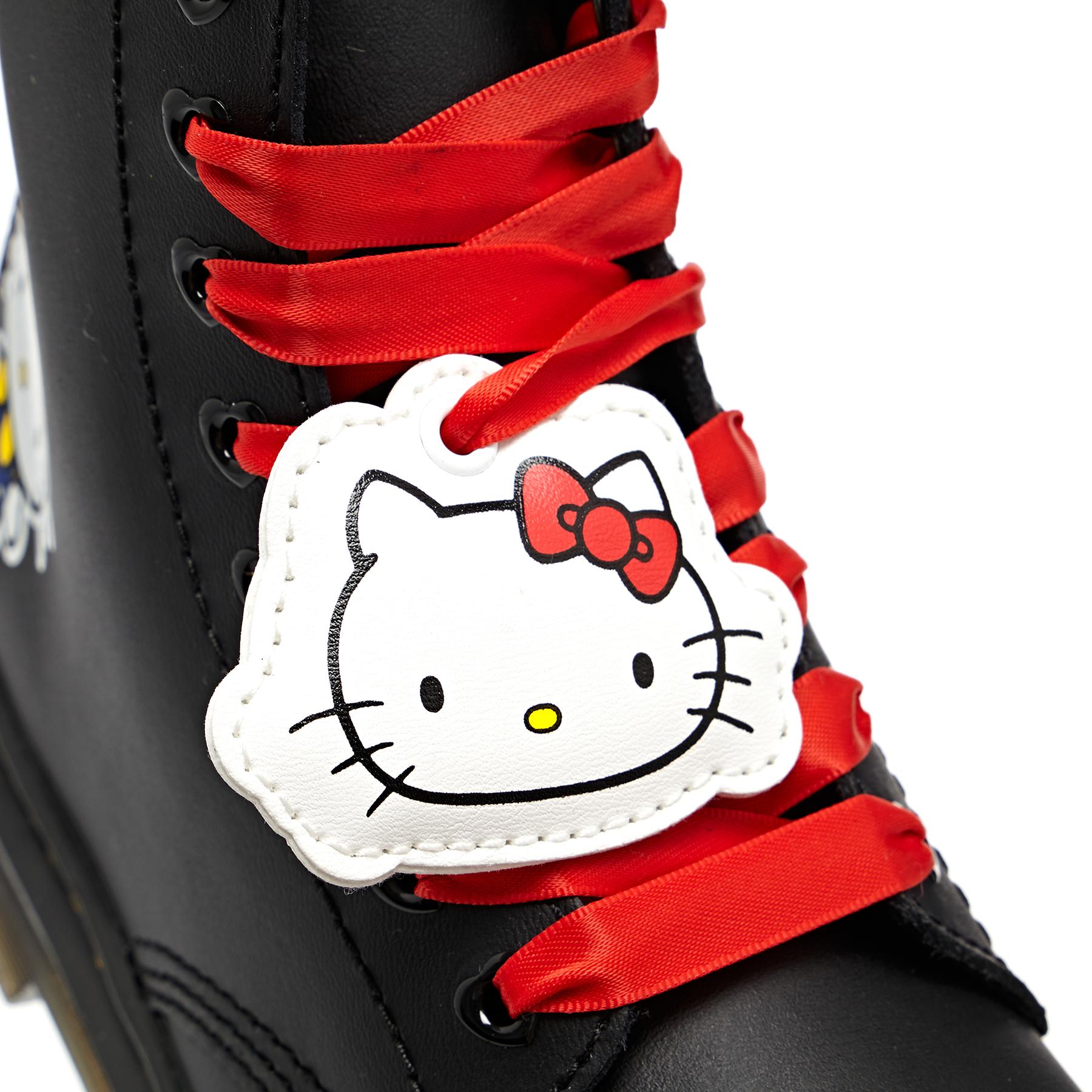 Dr Martens 1460 Hello Kitty , Stövlar Barns Black Hydro