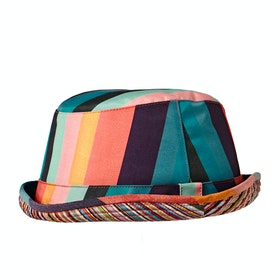 Paul Smith Artist Stripe Hat - Multicoloured