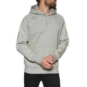 Pullover à Capuche Carhartt Chase - Grey Heather / Gold