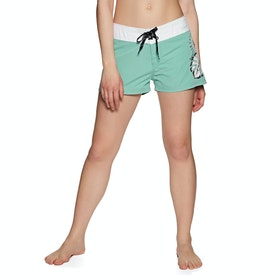 Boardshort Femme Animal Fianno - Canton Green