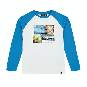 T-Shirt à Manche Longue Animal Create - Mediterranean blue