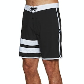 "Hurley Phantom Block Party 18"" Boardshorts - Light Carbon"