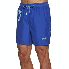 Superdry Waterpolo Swim Shorts - Racer Cobalt