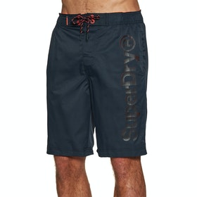 Superdry Classic Simple Boardshorts - Darkest Navy